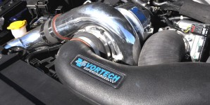 Shrader Vortech supercharged RS2